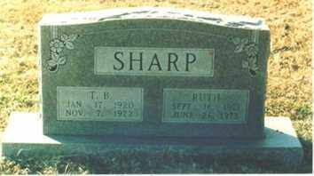 SHARP, RUTH - Little River County, Arkansas | RUTH SHARP - Arkansas Gravestone Photos