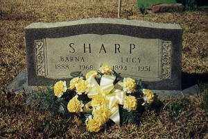SHARP, THOMAS BARNABAS - Little River County, Arkansas | THOMAS BARNABAS SHARP - Arkansas Gravestone Photos