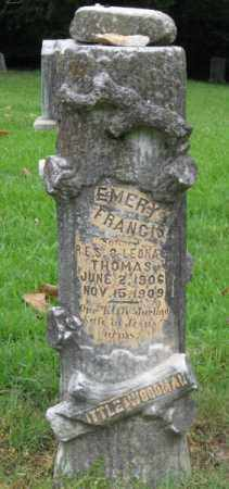 THOMAS, EMERY FRANCIS - Little River County, Arkansas | EMERY FRANCIS THOMAS - Arkansas Gravestone Photos