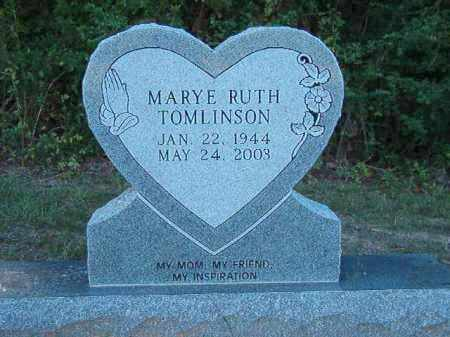 TOMLINSON, MARYE RUTH - Little River County, Arkansas | MARYE RUTH TOMLINSON - Arkansas Gravestone Photos