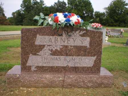 ABNEY,  MD, THOMAS B - Logan County, Arkansas | THOMAS B ABNEY,  MD - Arkansas Gravestone Photos