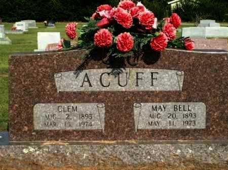 ACUFF, CLEM - Logan County, Arkansas | CLEM ACUFF - Arkansas Gravestone Photos