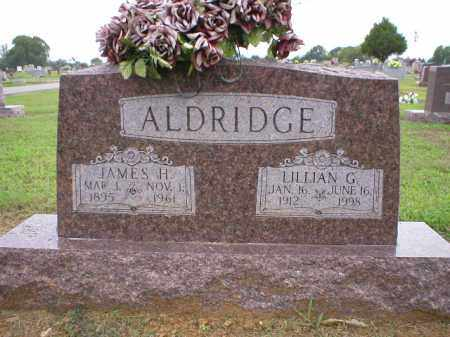 ALDRIDGE, LILLIAN G - Logan County, Arkansas | LILLIAN G ALDRIDGE - Arkansas Gravestone Photos