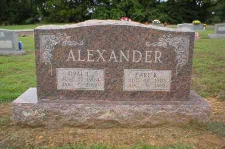 ALEXANDER, EARL - Logan County, Arkansas | EARL ALEXANDER - Arkansas Gravestone Photos