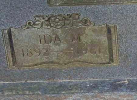ANDERSON, IDA M  (CLOSE UP) - Logan County, Arkansas | IDA M  (CLOSE UP) ANDERSON - Arkansas Gravestone Photos