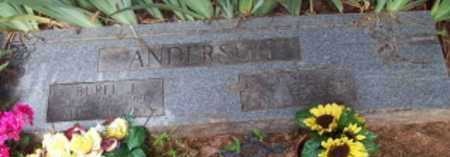 ANDERSON, WINNIE - Logan County, Arkansas | WINNIE ANDERSON - Arkansas Gravestone Photos