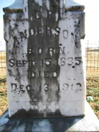 ANDERSON, C P - Logan County, Arkansas | C P ANDERSON - Arkansas Gravestone Photos