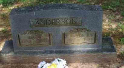 ANDERSON, CLYDE L - Logan County, Arkansas | CLYDE L ANDERSON - Arkansas Gravestone Photos