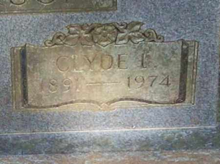 ANDERSON, CLYDE L (CLOSE UP) - Logan County, Arkansas | CLYDE L (CLOSE UP) ANDERSON - Arkansas Gravestone Photos