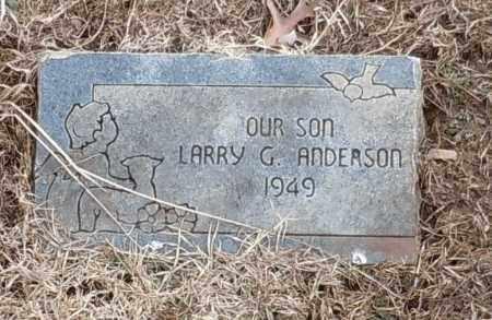 ANDERSON, LARRY G - Logan County, Arkansas | LARRY G ANDERSON - Arkansas Gravestone Photos