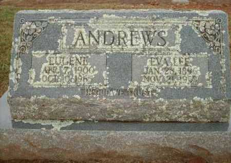 ANDREWS, EUGENE - Logan County, Arkansas | EUGENE ANDREWS - Arkansas Gravestone Photos