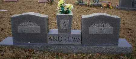 ANDREWS, PEARL - Logan County, Arkansas | PEARL ANDREWS - Arkansas Gravestone Photos
