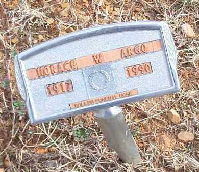 ARGO, HORACE W - Logan County, Arkansas   HORACE W ARGO - Arkansas Gravestone Photos