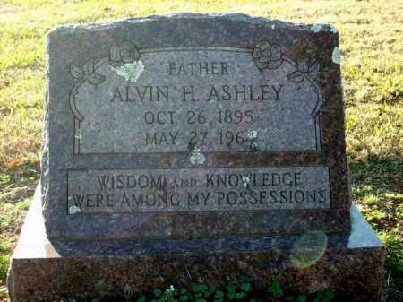 ASHLEY, ALVIN H. - Logan County, Arkansas | ALVIN H. ASHLEY - Arkansas Gravestone Photos