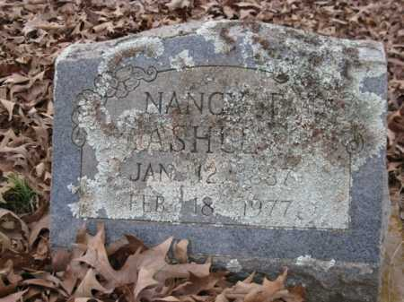 ASHLEY, NANCY E - Logan County, Arkansas | NANCY E ASHLEY - Arkansas Gravestone Photos
