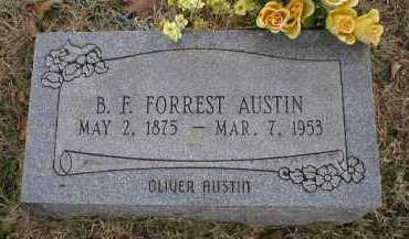 AUSTIN, B  F - Logan County, Arkansas | B  F AUSTIN - Arkansas Gravestone Photos