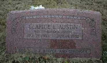 AUSTIN, CLARICE E - Logan County, Arkansas | CLARICE E AUSTIN - Arkansas Gravestone Photos