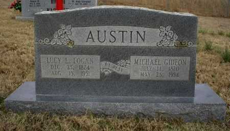LOGAN AUSTIN, LUCY L - Logan County, Arkansas | LUCY L LOGAN AUSTIN - Arkansas Gravestone Photos