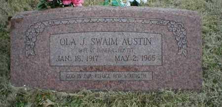 AUSTIN, OLA J - Logan County, Arkansas | OLA J AUSTIN - Arkansas Gravestone Photos