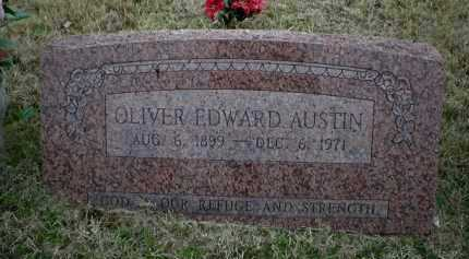 AUSTIN, OLIVER EDWARD - Logan County, Arkansas | OLIVER EDWARD AUSTIN - Arkansas Gravestone Photos