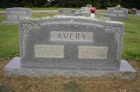 AVERY, LOLA - Logan County, Arkansas | LOLA AVERY - Arkansas Gravestone Photos