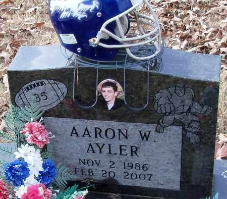 AYLER, AARON W. - Logan County, Arkansas | AARON W. AYLER - Arkansas Gravestone Photos