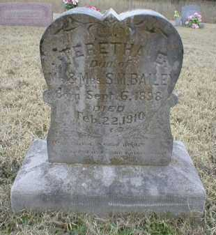 BAILEY, TERETHA E - Logan County, Arkansas | TERETHA E BAILEY - Arkansas Gravestone Photos