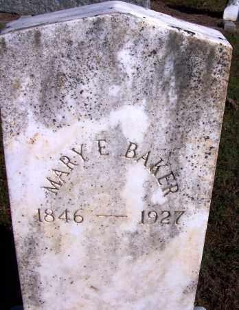 BAKER, MARY E - Logan County, Arkansas | MARY E BAKER - Arkansas Gravestone Photos