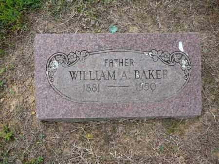 BAKER, WILLIAM - Logan County, Arkansas | WILLIAM BAKER - Arkansas Gravestone Photos