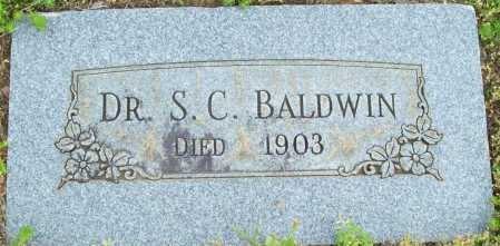 BALDWIN, S C, DR - Logan County, Arkansas | S C, DR BALDWIN - Arkansas Gravestone Photos