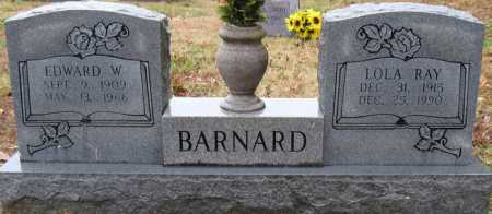 BARNARD, EDWARD W - Logan County, Arkansas | EDWARD W BARNARD - Arkansas Gravestone Photos