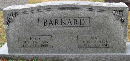 BARNARD, MAE - Logan County, Arkansas | MAE BARNARD - Arkansas Gravestone Photos