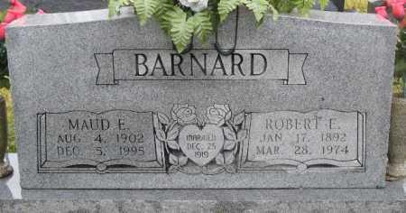 BARNARD, MAUD E - Logan County, Arkansas | MAUD E BARNARD - Arkansas Gravestone Photos