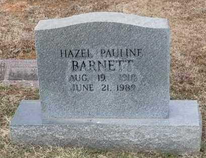 BARNETT, HAZEL PAULINE - Logan County, Arkansas | HAZEL PAULINE BARNETT - Arkansas Gravestone Photos