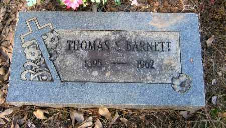 BARNETT, THOMAS S. - Logan County, Arkansas | THOMAS S. BARNETT - Arkansas Gravestone Photos