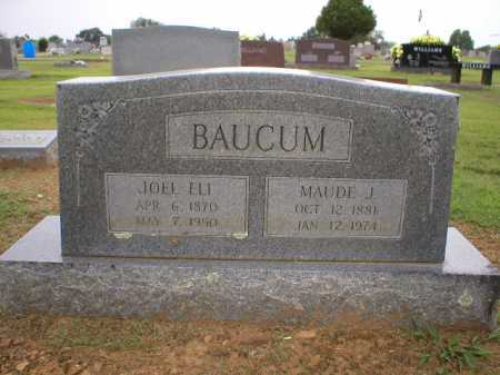 BAUCUM, JOEL ELI - Logan County, Arkansas | JOEL ELI BAUCUM - Arkansas Gravestone Photos