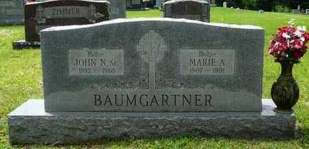 BAUMGARTNER, MARIE - Logan County, Arkansas | MARIE BAUMGARTNER - Arkansas Gravestone Photos