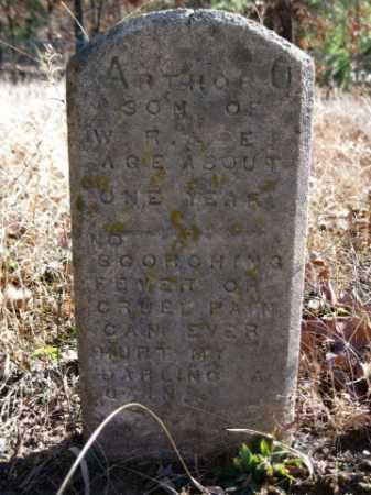 BEASON, ARTHOR O - Logan County, Arkansas | ARTHOR O BEASON - Arkansas Gravestone Photos