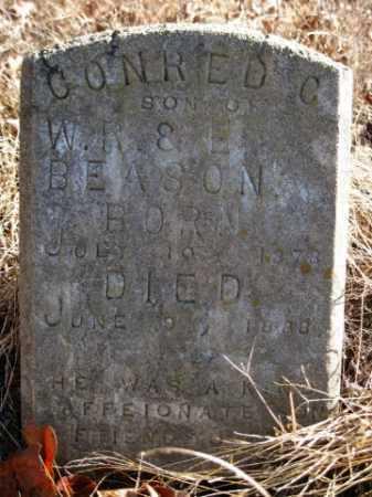 BEASON, CONRED C - Logan County, Arkansas | CONRED C BEASON - Arkansas Gravestone Photos