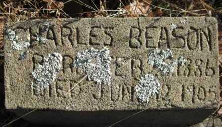 BEASON, CHARLES - Logan County, Arkansas | CHARLES BEASON - Arkansas Gravestone Photos