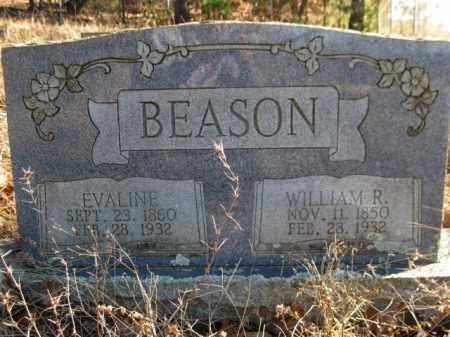 BEASON, WILLIAM R. - Logan County, Arkansas | WILLIAM R. BEASON - Arkansas Gravestone Photos