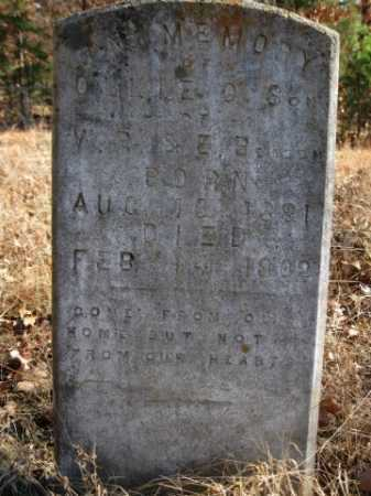 BEASON, OLLIE O - Logan County, Arkansas | OLLIE O BEASON - Arkansas Gravestone Photos