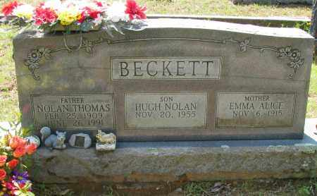 BECKETT, NOLAN THOMAS - Logan County, Arkansas | NOLAN THOMAS BECKETT - Arkansas Gravestone Photos