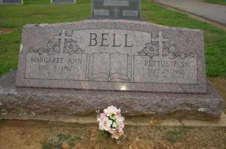 BELL, PETTUS - Logan County, Arkansas | PETTUS BELL - Arkansas Gravestone Photos