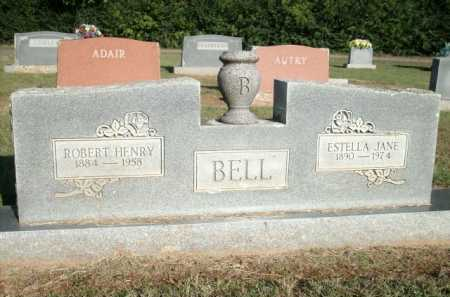 BELL, ESTELLA JANE - Logan County, Arkansas | ESTELLA JANE BELL - Arkansas Gravestone Photos