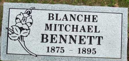BENNETT, BLANCHE - Logan County, Arkansas | BLANCHE BENNETT - Arkansas Gravestone Photos