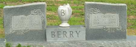 "BERRY, A.L. ""LINCOLN"" - Logan County, Arkansas 