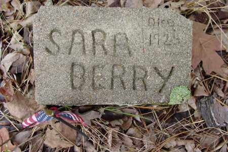 BERRY, SARA JANE - Logan County, Arkansas | SARA JANE BERRY - Arkansas Gravestone Photos