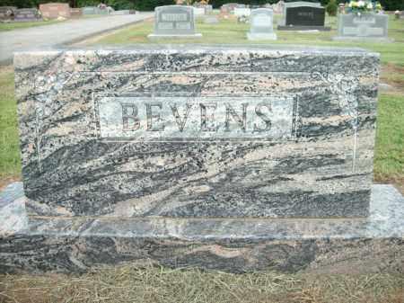 BEVENS, BAS. B. - Logan County, Arkansas | BAS. B. BEVENS - Arkansas Gravestone Photos