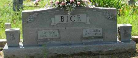 BICE, JOHN W - Logan County, Arkansas | JOHN W BICE - Arkansas Gravestone Photos